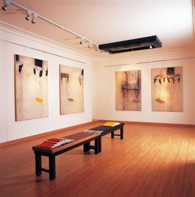 Imagen de la galería de arte contemporáneo Ayyam, en Damasco