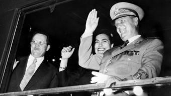 El presidente yugoslavo Josip Broz Tito