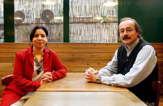 La escritora marroquí y ganadora del premio Columna Joven, Laila Karrouch