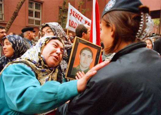 Familiares de soldados muertos en acciones del PKK
