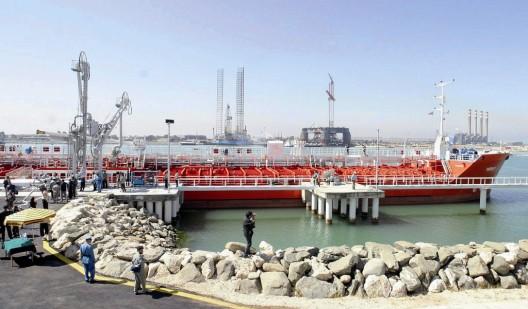 Terminal iraní del oleoducto que transporta crudo a través del Mar Caspio desde Turkmenbashi, en Turkmenistán, hasta la ciudad de Neka