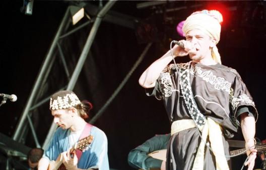 El grupo marroquí Gnawa Diffusion