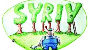 Mejoras en la ecología y la protección del medioambiente: Ahora hay en Siria más parques y jardines…!