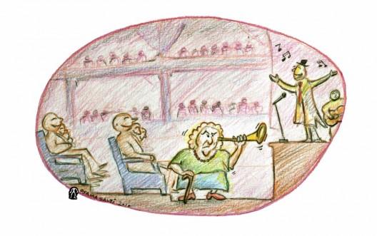 La Ópera siria (2004). Música, arte y teatro: lo que le gusta a la Siria moderna…