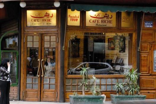 Café Riche, El Cairo, Egipto