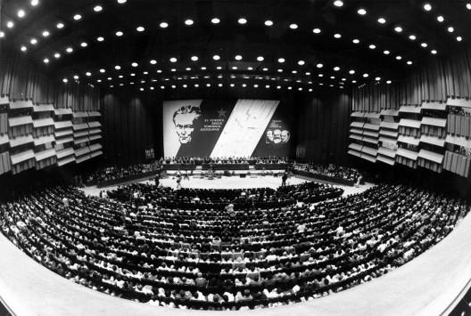 Panorámica del pleno del 12º Congreso de la Liga de los Comunistas
