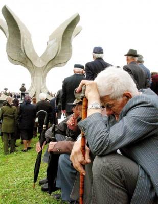 Supervivientes del campo de concentración ustasha de Jasenovac