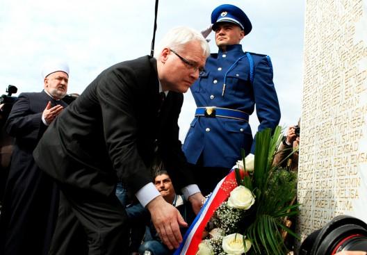 El presidente croata Ivo Josipovic